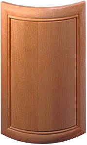 More About Radius Cabinet Doors